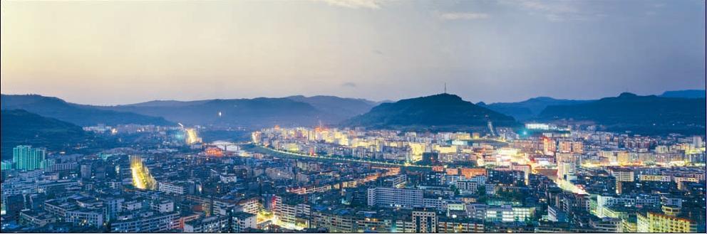 四川城市美丽图片(白天景色,夜晚景色)合集