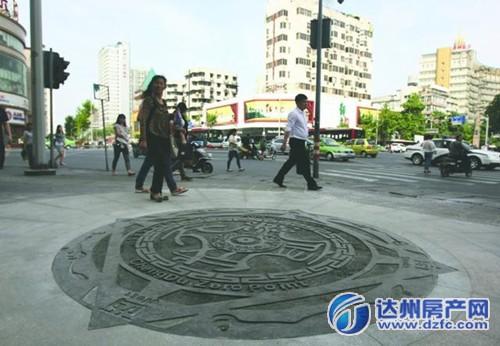 例如,广州的原点在人民公园南广场的圆形中心广场圆心处,成都的原点在
