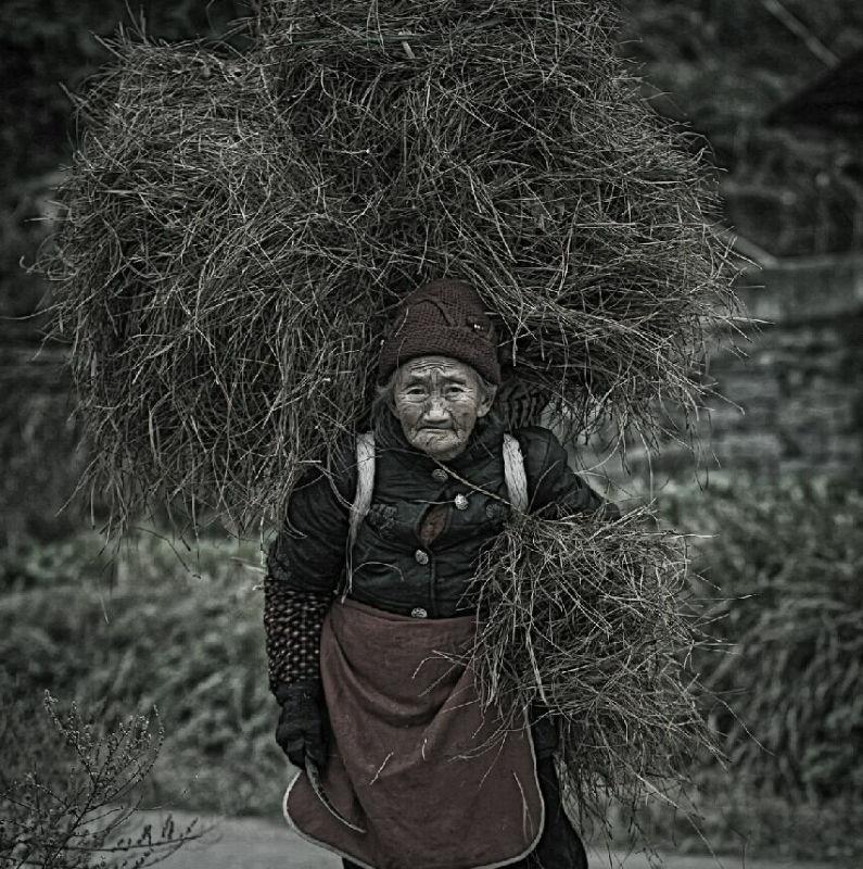 母亲 达州摄影