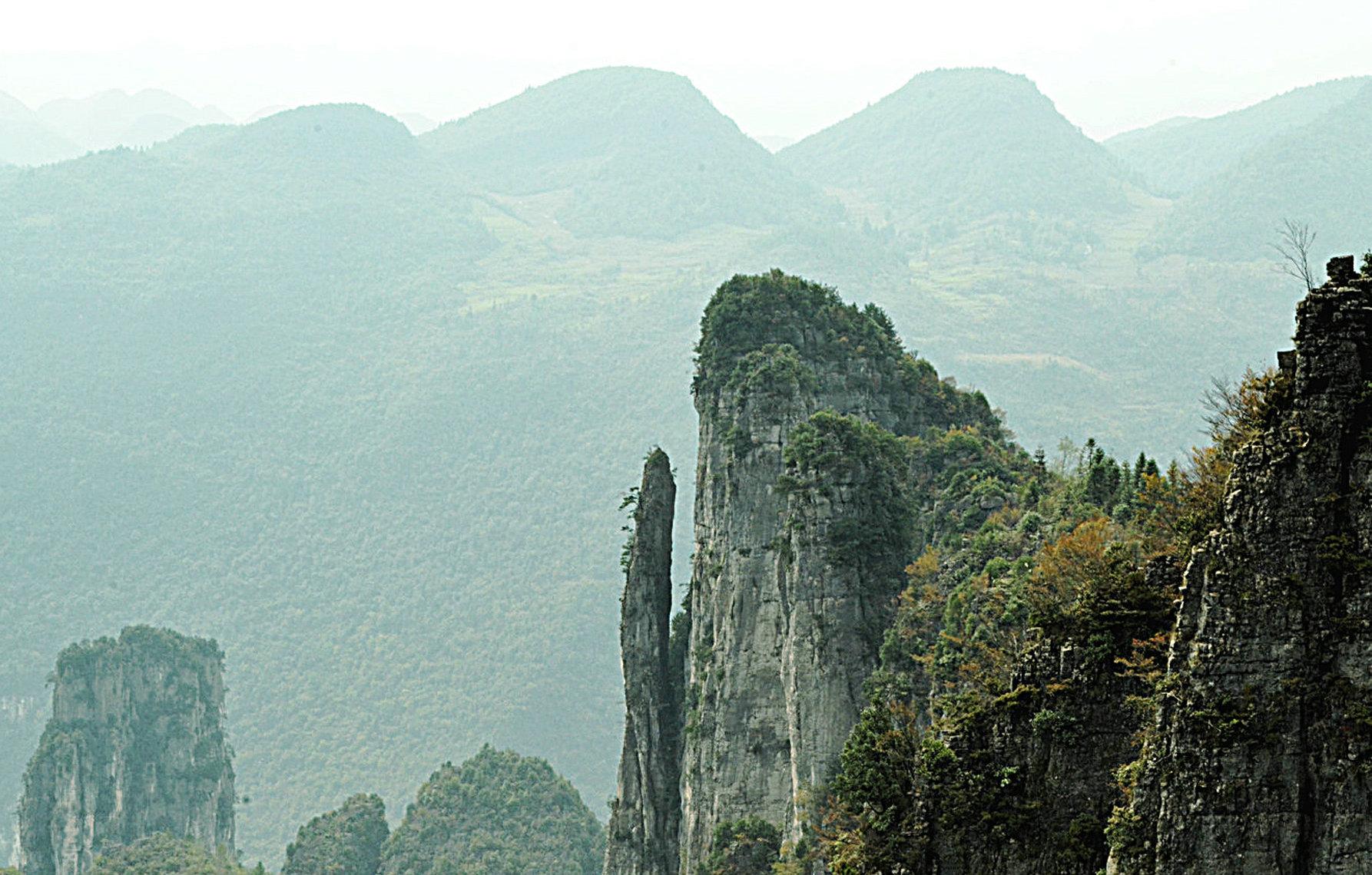 恩施峡谷奇观 - 达州摄影 - 凤凰山下 - www.dz19.net