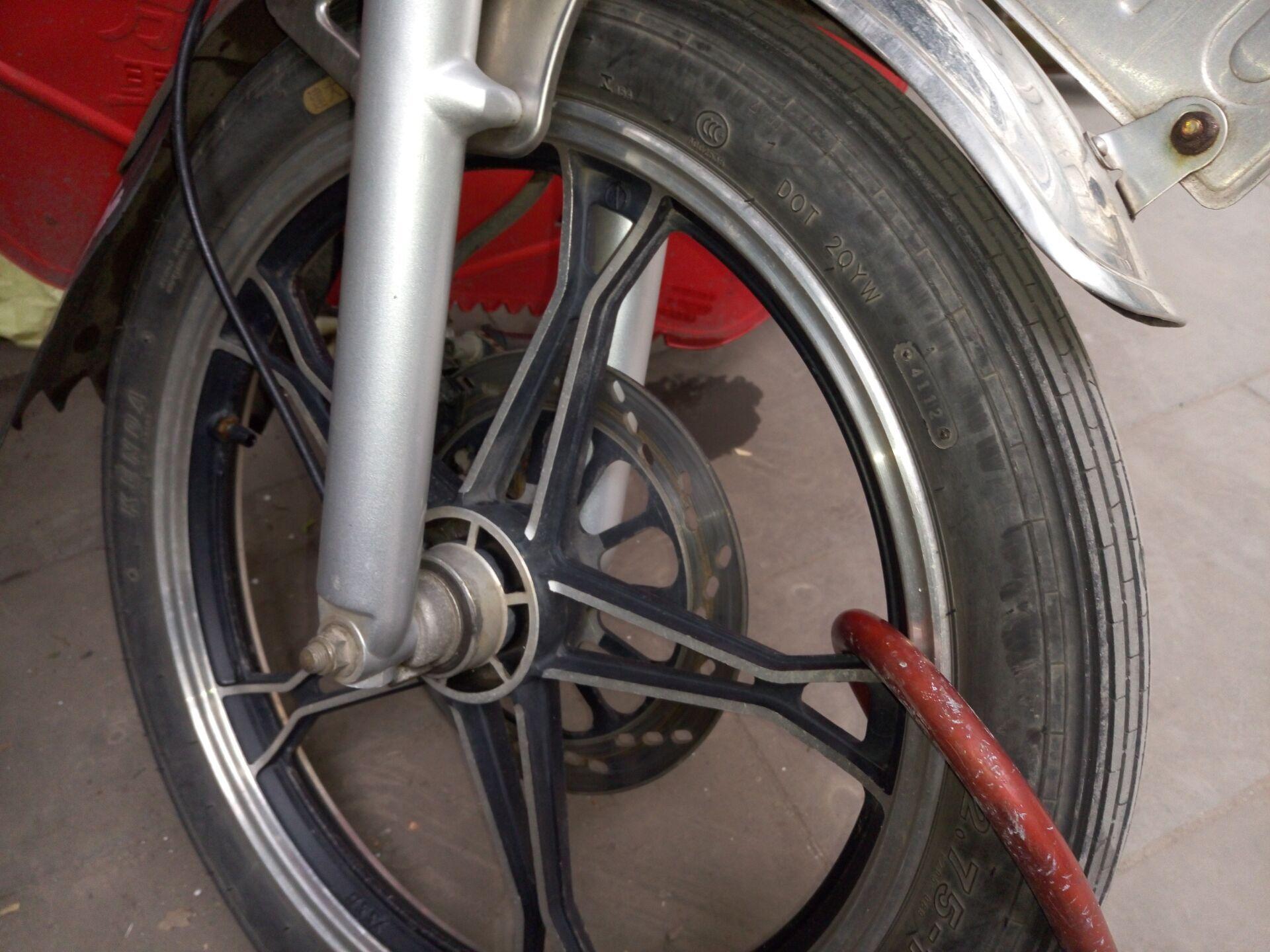 摩托车碟刹结构图