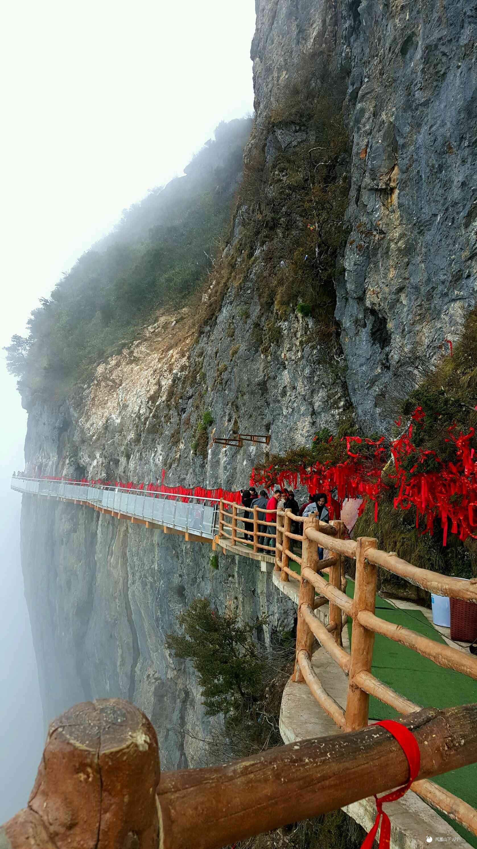 八台山的风景真的太美啦~蓝天白云~仙气.