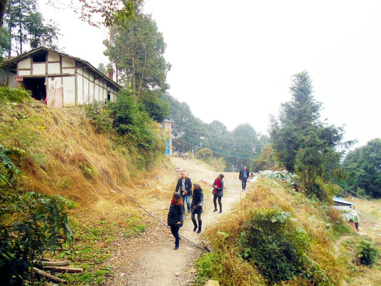 仙女山风景旅游区地处达川碑高乡