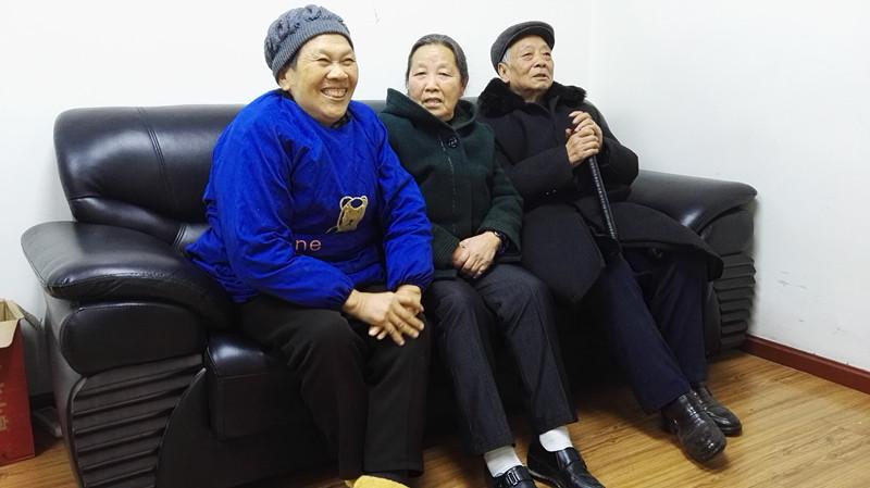 刘兴政、杨远敬等老人