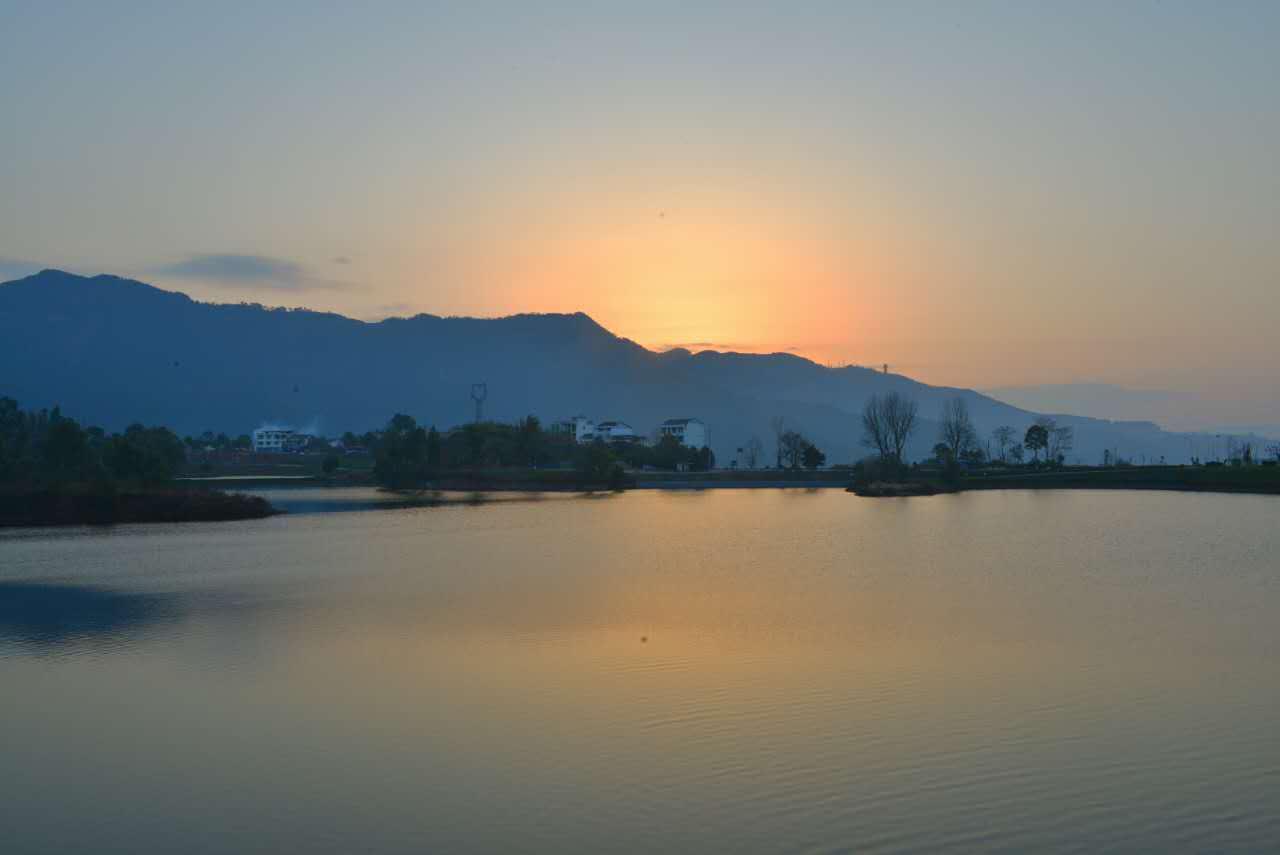 莲花湖湿地公园 - 今日达州 - 凤凰山下 - www.dz19.