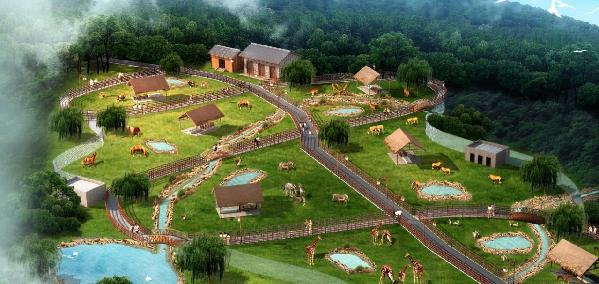 最新··达州大型野生动物园 进展! 金石云顶大型野生