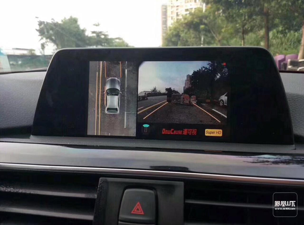 道可视拥有独家核心技术,只要原车带ESP电子车身稳定系统就可实现轨迹,不止倒车有轨迹,前进也有,不仅让你知道方向打了几圈,更能引导你倒车和前进的路线。只有带轨迹的全景才是成品。长安原车带屏的车都可安装道可视全景并实现轨迹,而且效果非常清晰,下面为大家带来一部分安装实例图