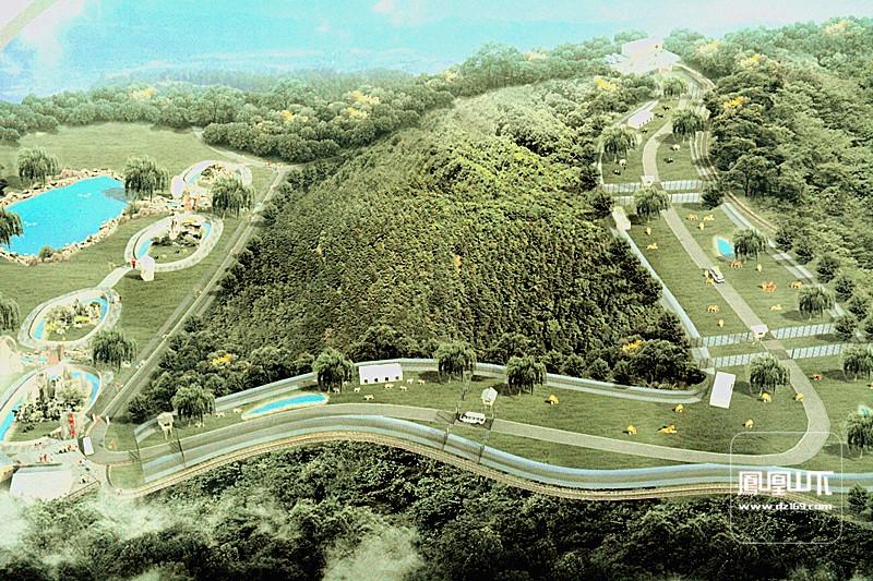 建设中的金石云顶山野生动物园 - 今日达州 - 凤凰山