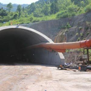 凤凰山隧道及西延线建设
