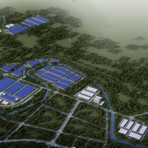 达州清洁能源汽车生产基地和玻璃纤维产业园