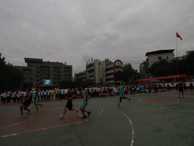 2016年达川区中学生篮球运动会在达川中学胜利闭幕