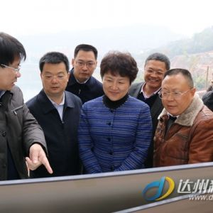 包惠深入调研城区部分在建重点项目
