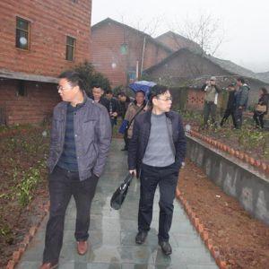 达川区委副书记陈书指导达川中学精准扶贫工作