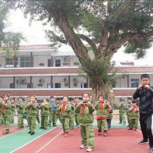 """通川区罗江八一希望学校被教育部认定为""""国防教育特色学校"""""""