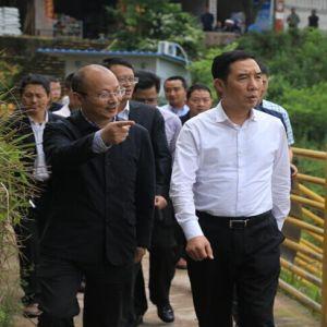 县委书记罗建 调研宝石桥水库水上交通安全管理工作