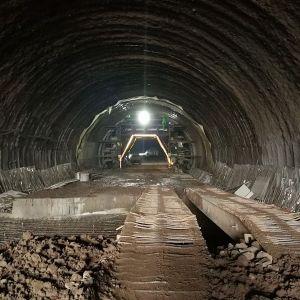杨柳垭隧道进出两洞全部贯通啦
