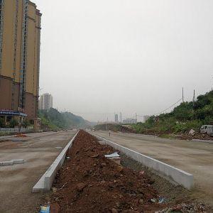 南城三号干道南延线达川区段正在抓紧建设