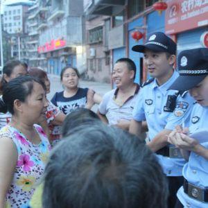 宣汉县公安局昆池所 实行公开接访制度助力社会综合评价工作
