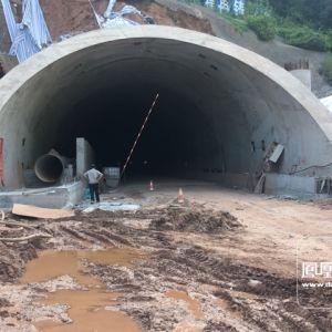凤凰山隧道工程已完成总工程量的90%