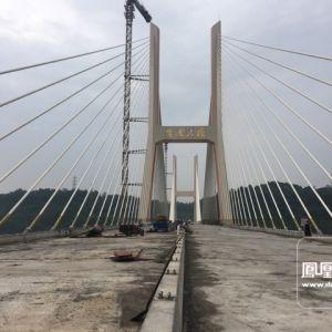 金南大桥施工进度快报