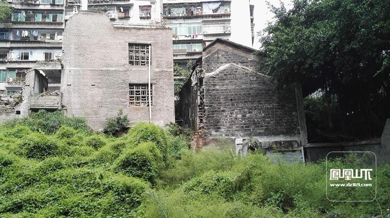 2016年拆迁中达县看守所及武警达县中队
