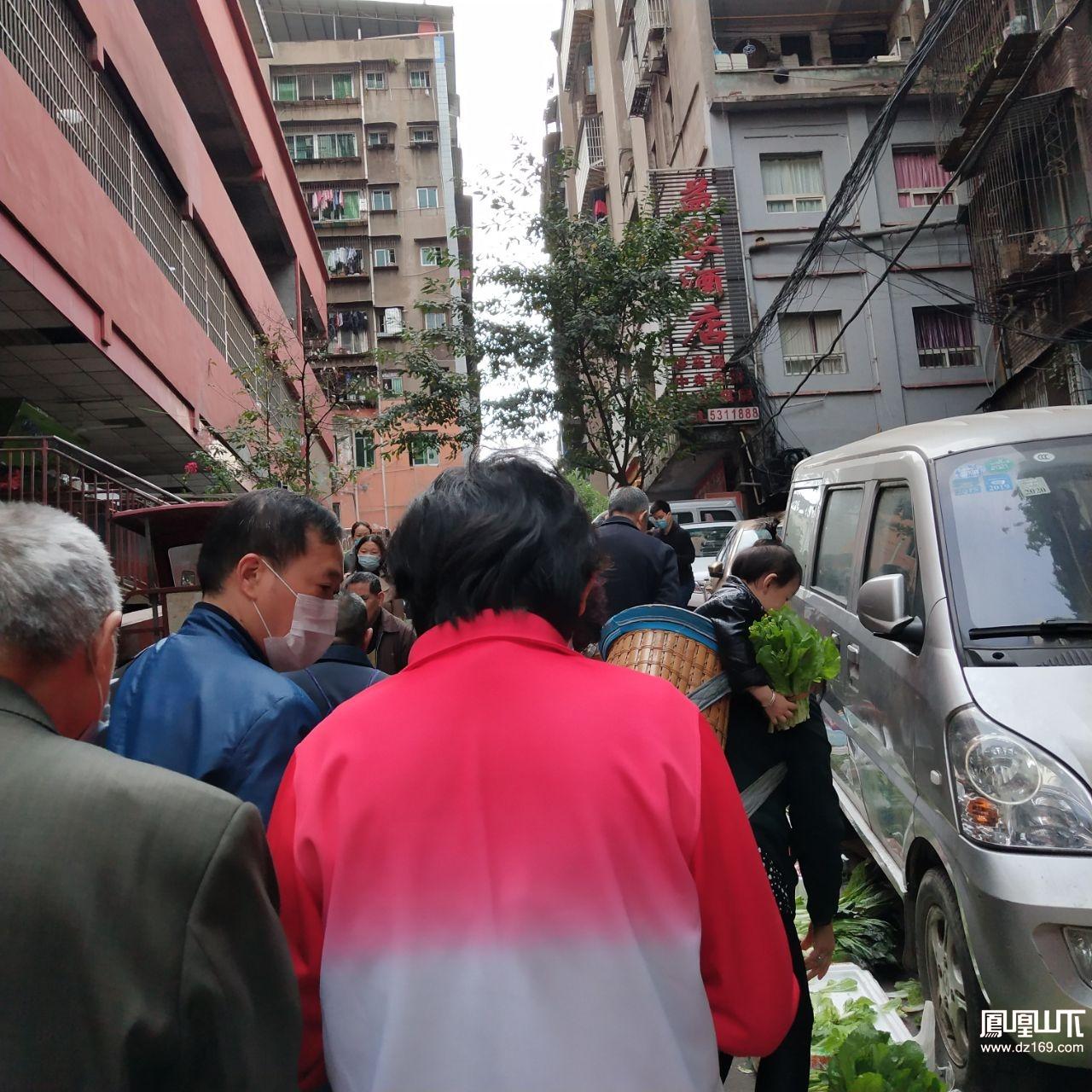 通川農貿市場亂
