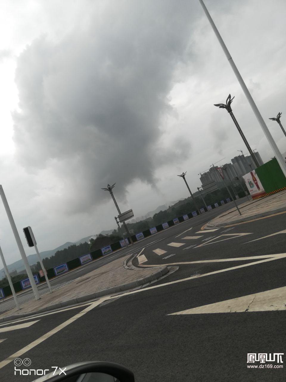 不知道这个气是污染的还是传说的那样不污染,太可怕了