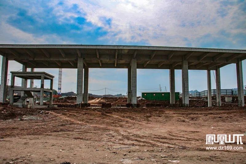 最新进展!达州保税物流中心一期项目及周边基础设施建设加快推进