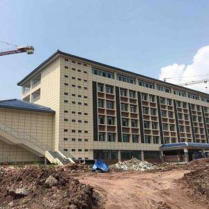 达州职业技术学院新校区今秋开学投入使用