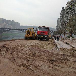 达城快速通道工程东段建设抓紧推进