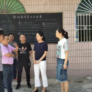 开江县普安小学与讲治镇朝阳寺小学开展对口帮扶活动