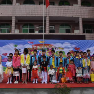 普安镇中心小学与朝阳寺小学开展结对联谊活动