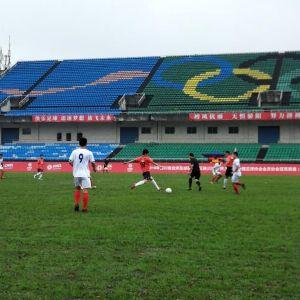 达州一中青狮足球队连续三届晋级全省总决赛