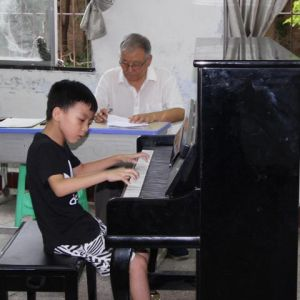 中国音乐学院社会艺术考级在达川中学举行