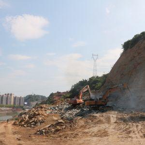达州三里坪人文生态区A线道路建设最新进展(视频)