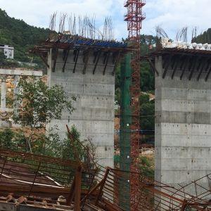 达城几座大桥建设正在快速推进