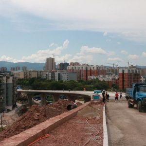 塔石路Ⅱ号桥计划15日开始试通行(视频+组图