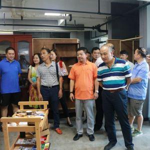 湖北省大冶市文化交流考察团到达州考察文化产业项目