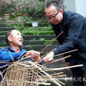 中国民间文艺家协会主席潘鲁生在宣汉调研民间文艺