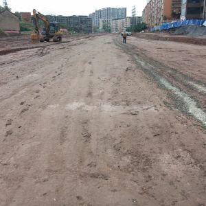 金南大道西延线一期工程正在加快推进