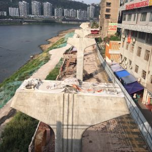 滨河路快速通道东段工程建设进展