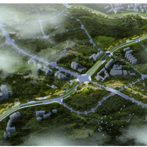 塔石路沿线土地开发利用工程建设项目全力推进