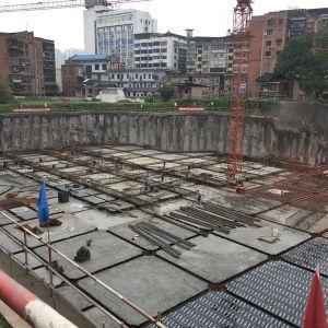 达州市委党校地下停车场与休闲广场建设项目加快建设(视频+组图)