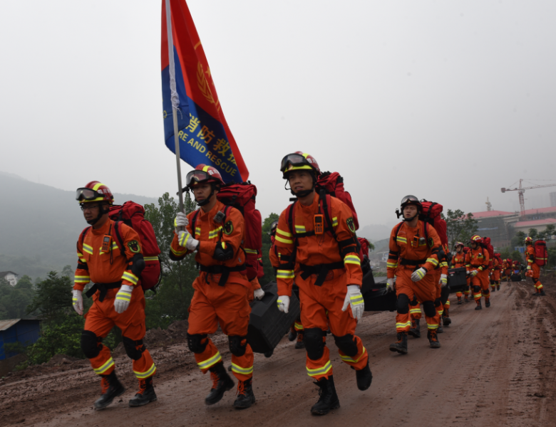 达州举行2019年度地震救援拉动演练