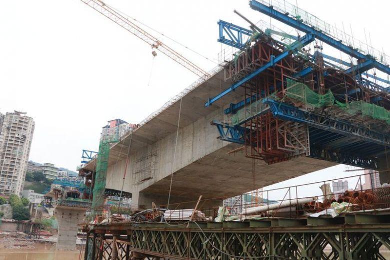 镜头下的达州野茅溪大桥建设工地(视频+组图)