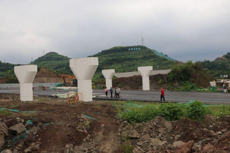 镜头下的通川区环凤产业大道