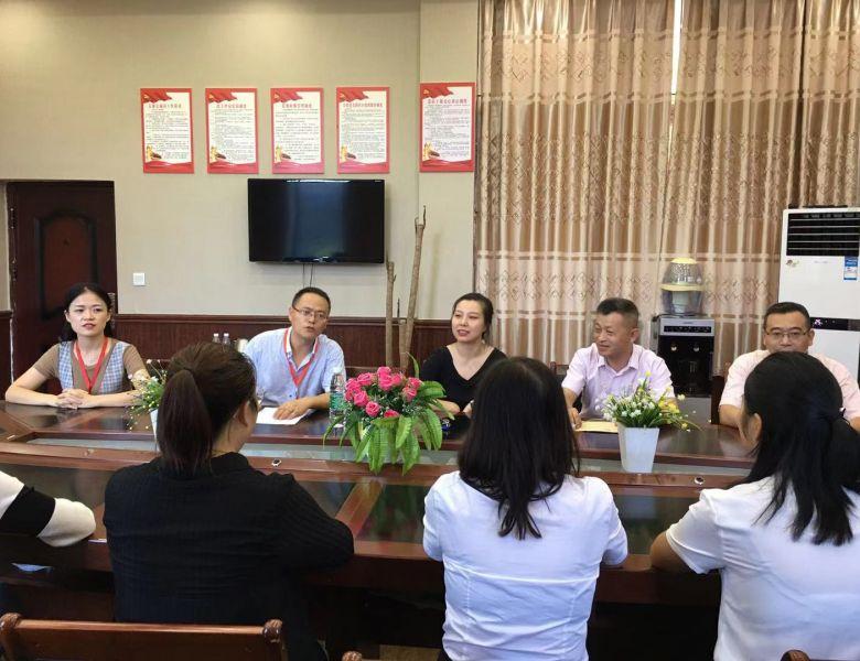 [教师节专题]通川区罗江镇政府领导为罗江八一希望学校送上节日慰问