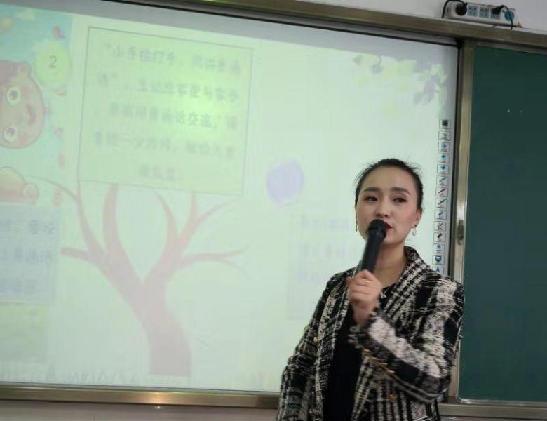 """通川二小开展""""沟通——从说好普通话开始"""" 家长进课堂活动"""