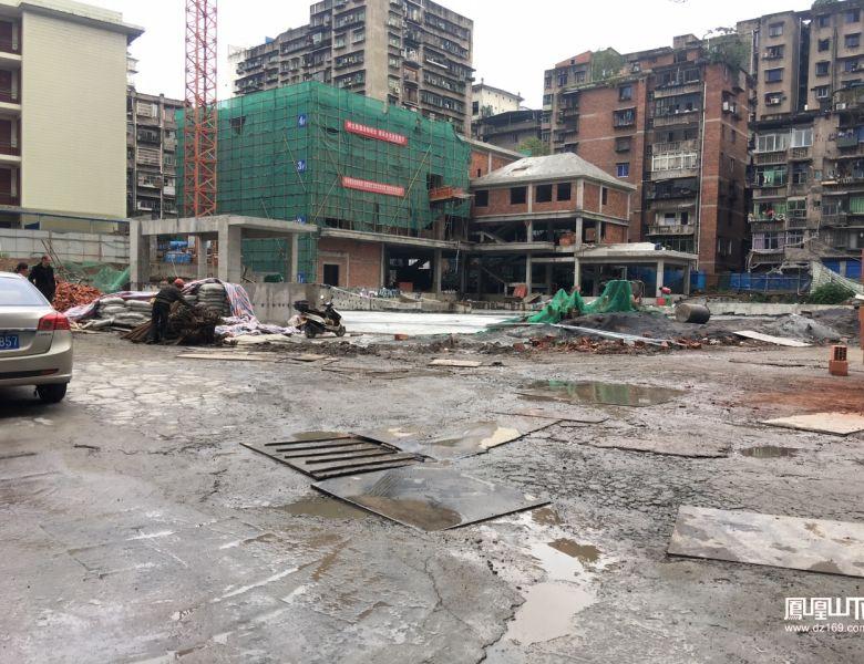 永丰街地下停车场及休闲广场年底开放