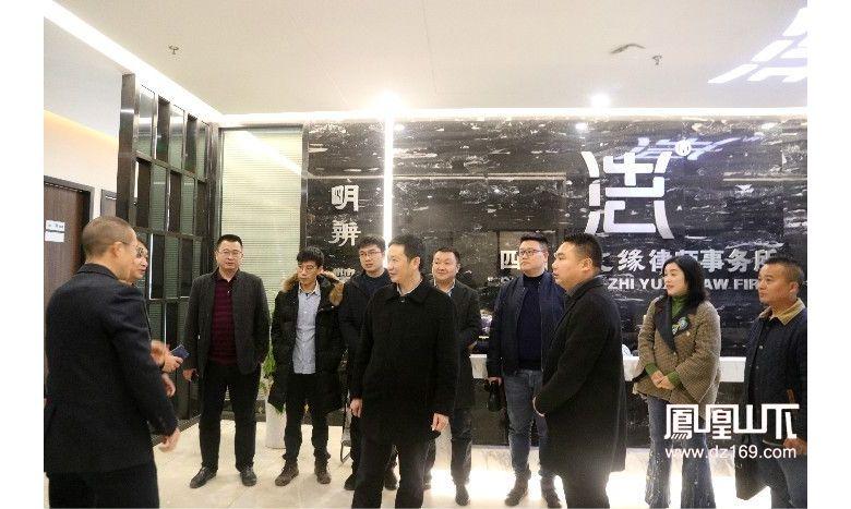 通川区新联会领导走访调研会员企业 助力企业发展